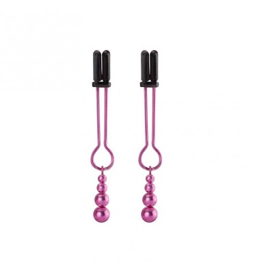 Shots Ouch Pinzas para Pezones Color Rosa