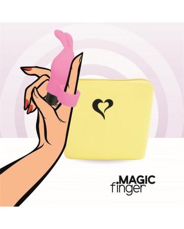 Magic Finger Vibrador para el Dedo Rosa