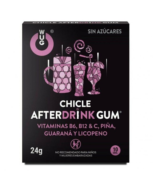 Chicle Wug Afterdrink Gum 10 Uds Clave 26