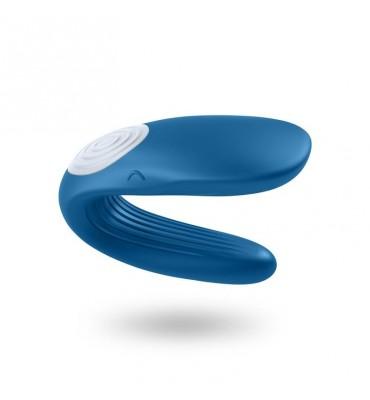 Satisfyer Vibrador para Parejas Partner Whale Azul