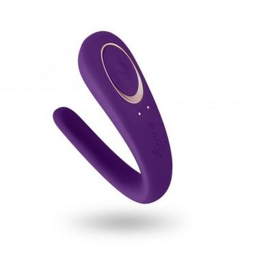 Satisfyer Vibrador para Parejas Partner Color Purpura