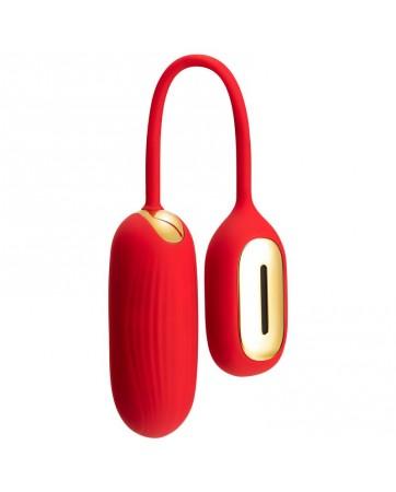 Huevo Vibrador Muse Bluetooth Rojo