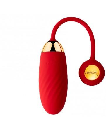 Huevo Vibrador Connexion Series Ella Neo con App Rojo