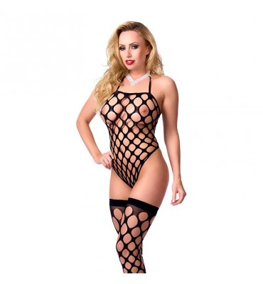 Rimba Amorable Bodystocking de Red Color Negro Talla unica
