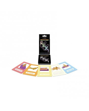 Juego de cartas Gay Sex Card Game EN ES