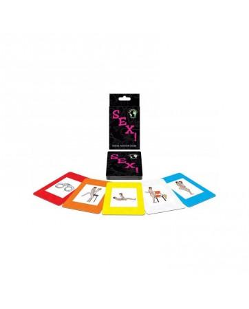 Juego de cartas International Sex Card Game EN ES FR DE NE IT POR