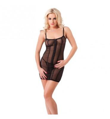 Rimba Amorable Mini Vestido con Tanga Color Negro Talla unica