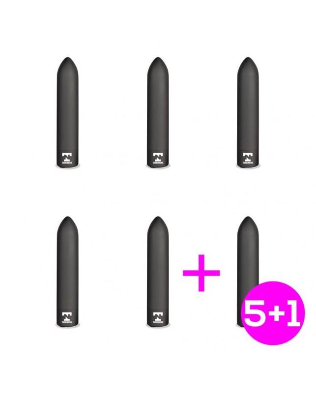Pack 51 Shady Bala Vibradora Recargable USB Impermeable