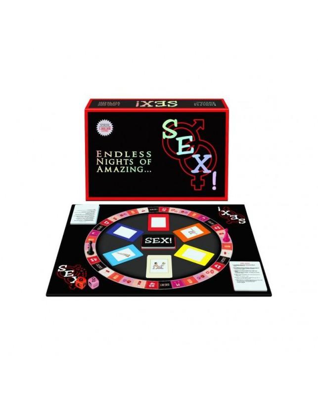 Juego de Parejas Sex Board Game EN ES
