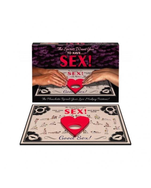 Juego de Parejas The Spirits Want You to Have Sex EN ES FR DE RU POR IT CZ