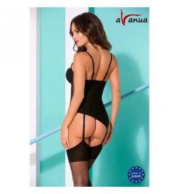 Rania Corset Negro