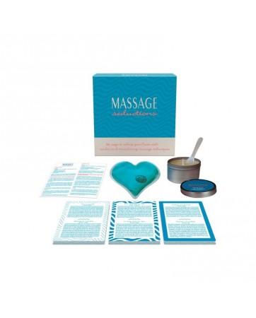 Kit Massage Seductions EN ES DE FR