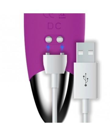 No Ten Vibrador Hiper Flexible Punto G USB Magnetico Silicona