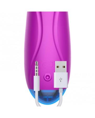 No Twelve Estimulador Luz Led Potente Motor Silicona USB