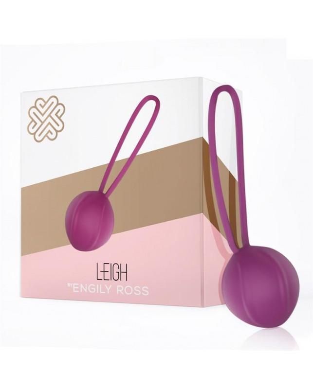Leigh Bola Kegel Silicona Purpura