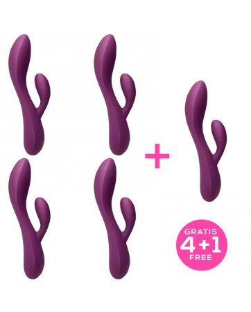Pack 41 Bacall 20 Vibrator Purple Liquiefied Si
