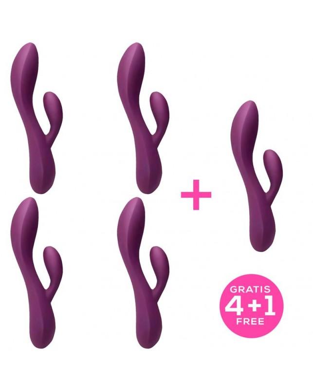 Pack 41 Bacall 20 Vibrator Purple Liquiefied Si