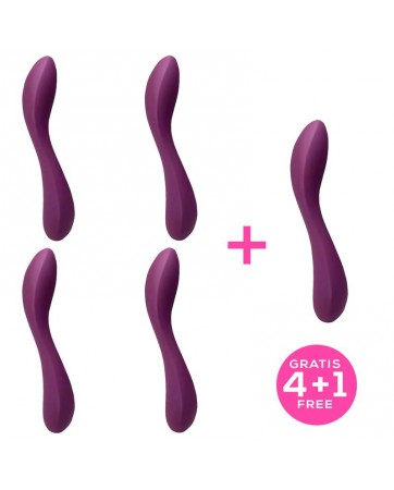Pack 41 Monroe 20 Vibrator Purple Liquefied Sil