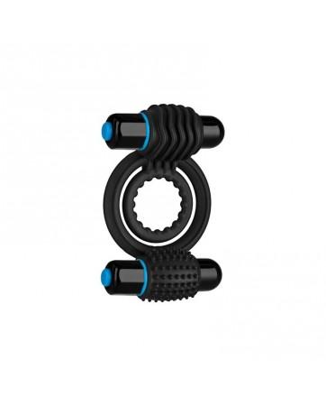 Anillo Virbador Double C Ring Negro