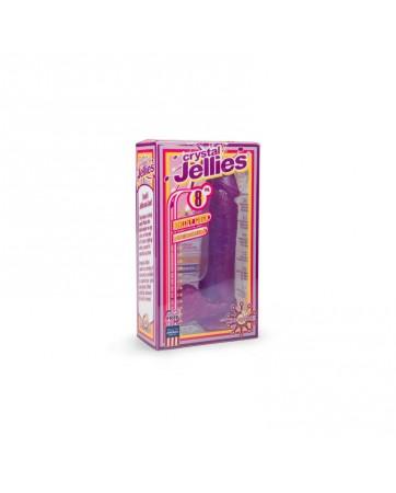 Dildo Jelly 22 cm Purpura