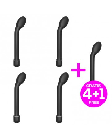 Pack 41 Waals Vibrador Multi Velocidad Punto G 21 cm Negro