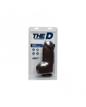 Dildo The Fat D 20 cm Dark
