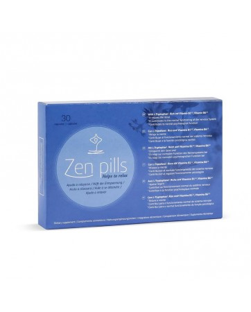Capsulas Relajantes Zen Pills
