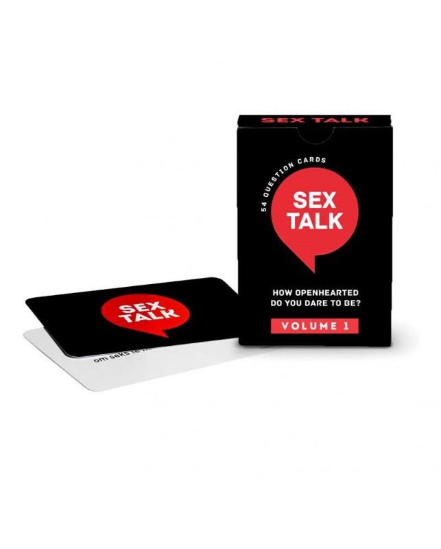 Juego de Cartas Sex Talk Volume 1 EN
