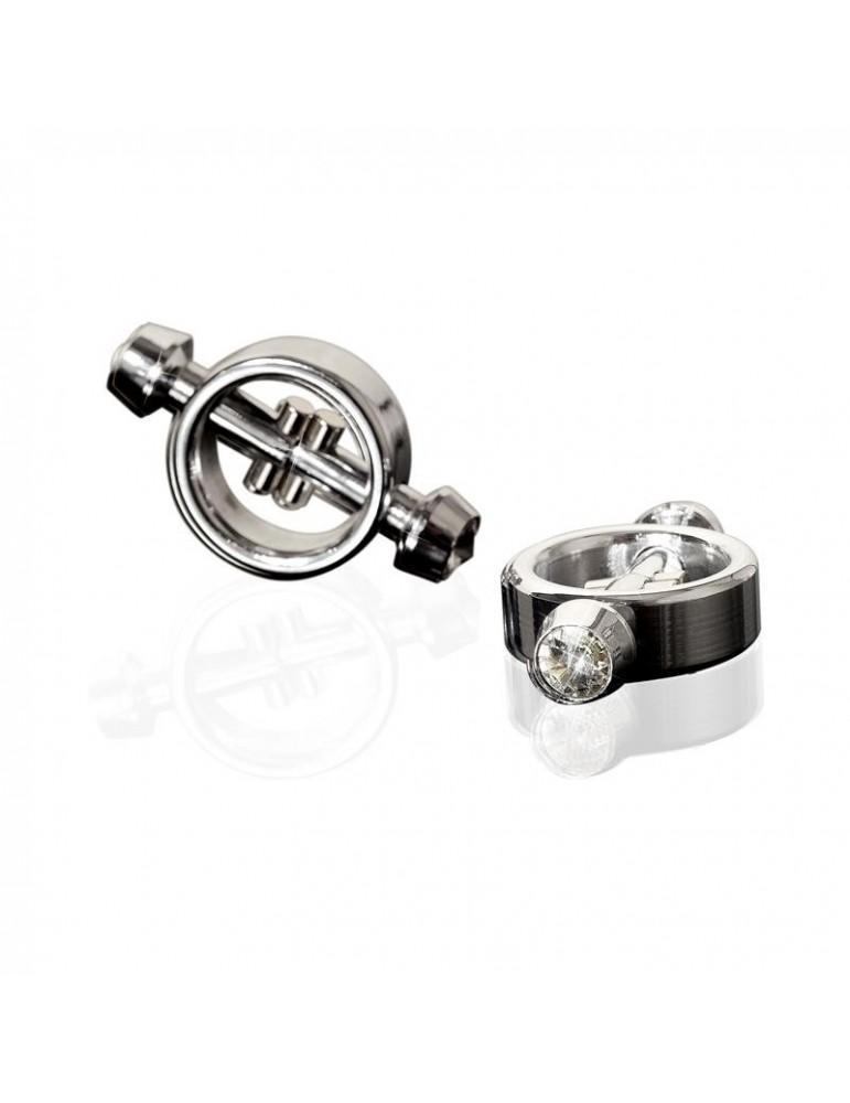 Metal Worx Abrazaderas Metalicas Magneticas para Pezones