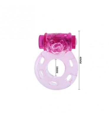 Anillo Vibrador Color Rosa