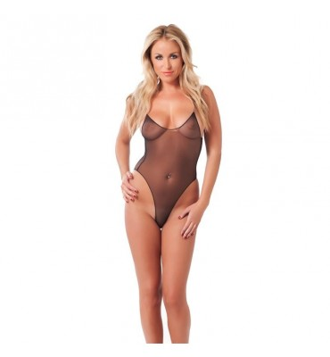 Rimba Amorable Body con Tirantes Finos Color Negro Talla unica