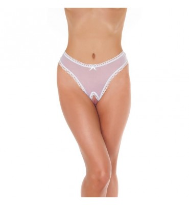 Rimba Amorable Tanga Abierto Color Blanco Talla unica