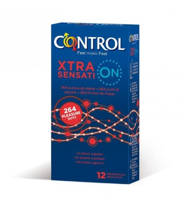 Preservativos Xtra Sensation 12 unidades