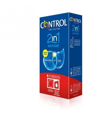 Preservativos Nature 2 en 1 6 unidades