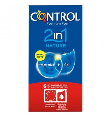 Preservativos Nature 2 en 1...