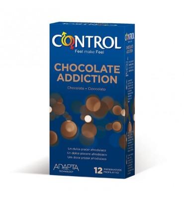 Preservativos Chocolate Addiction 12 unidades