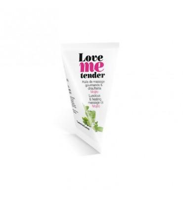 Aceite de Masaje Love Me Tender Aroma a Mojito 10 ml