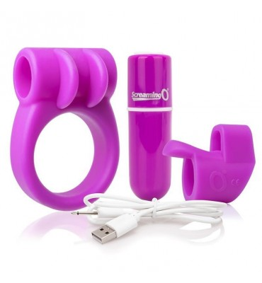 Kit Bala Vibradora Charged Purple Color Purpura