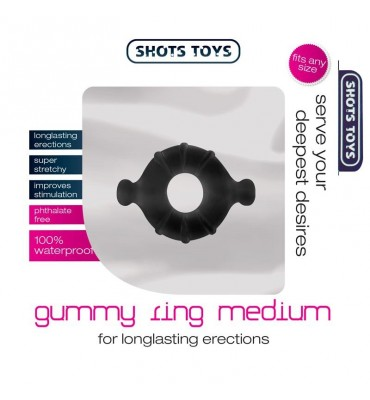 Shots Toys Gummy Anillo...