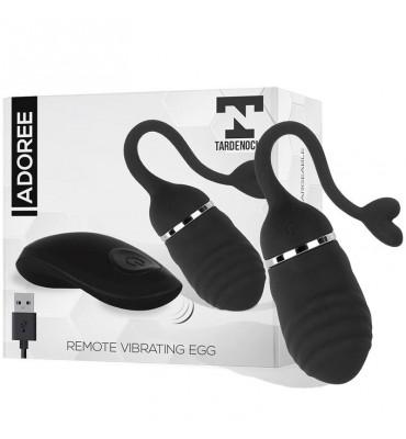 Adoree Huevo Vibrador USB Control Remoto USB Silicona