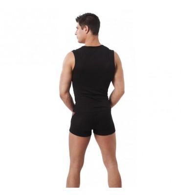 Pantalon Corto Rejilla Negro