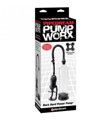 Pump Worx Succionador Rock Hard Power Color Negro