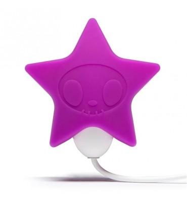 tokidoki 10 Function Silicone Estimulador Vibrador del Clitoris Estrella Rosa