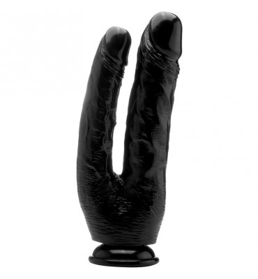 Pene Realistico Doble Penetracion 254 cm Color Negro