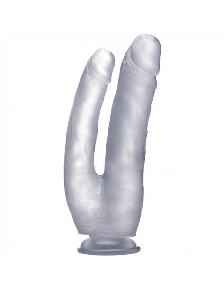 Pene Realistico Doble Penetracion 254 cm Color Transparente