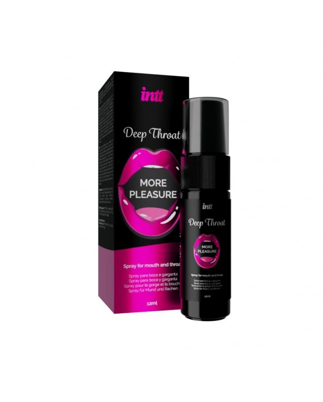 Spray para Sexo Oral Deep Throat Boca y Garganta 12 ml