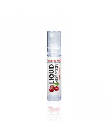Vibrador Liquido Base Agua Cereza 10 ml