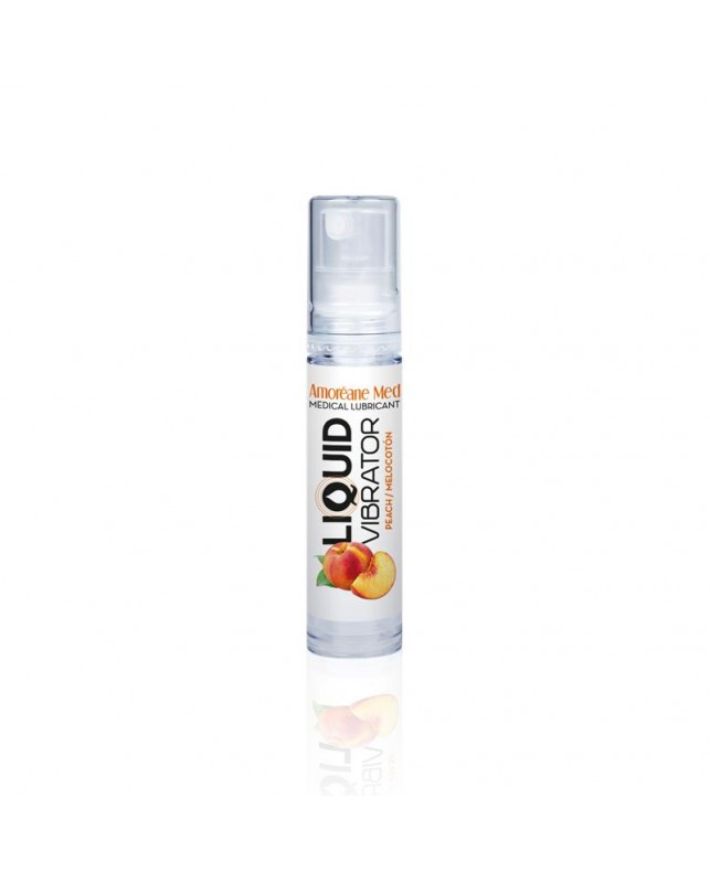 Vibrador Liquido Base Agua Melocoton 10 ml