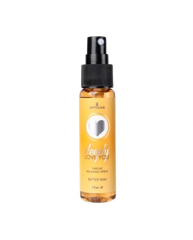 Spray Relajante para la Garganta Butter Rum Ron Mantequilla 30 ml