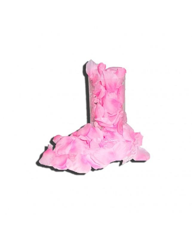 Petalos de Rosa 120 Unidades Color Rosa